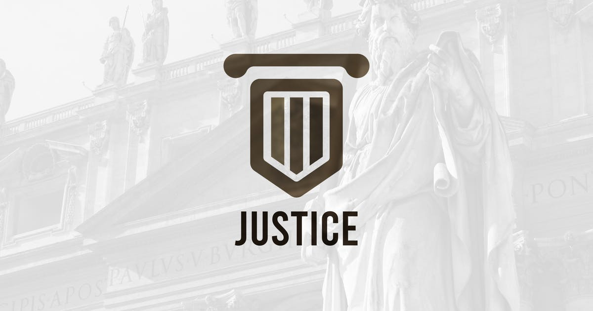 Download Law and Justice – Lawyer Logo Template by merkulove