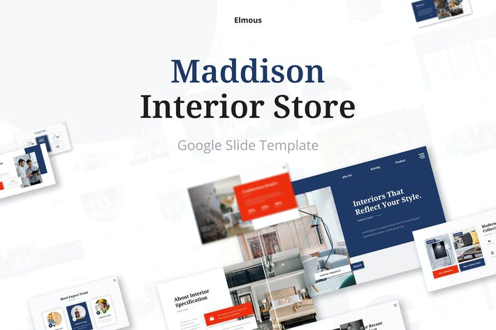 Maddison - Interior & Furniture Store Google Slide