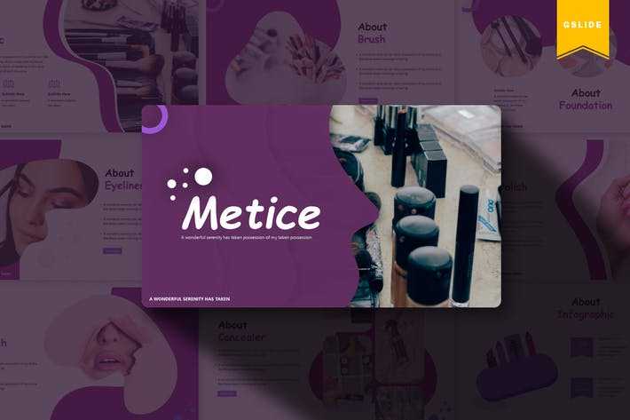 Metice | Google Slides Template