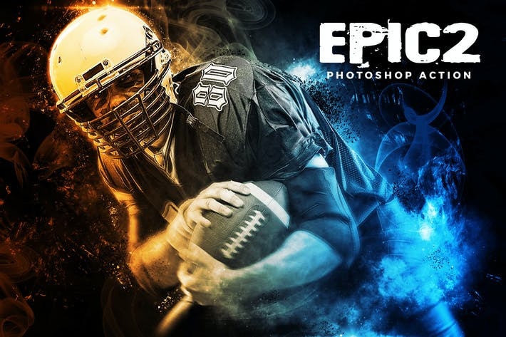 Thumbnail for Epic 2 Photoshop Action