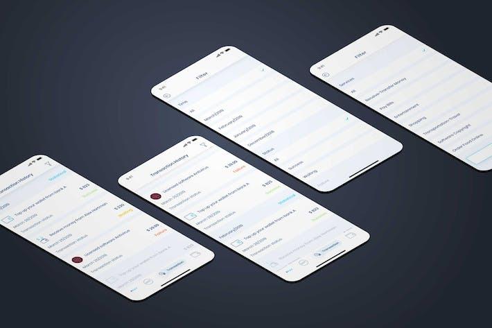 Thumbnail for Transaction History - Wallet Mobile UI - FP