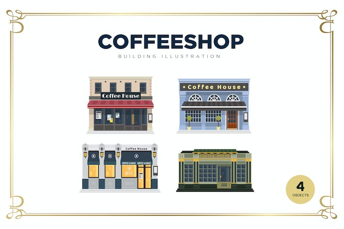 Thumbnail for Coffeeshop Building