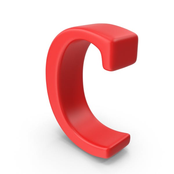 Red Small Letter C