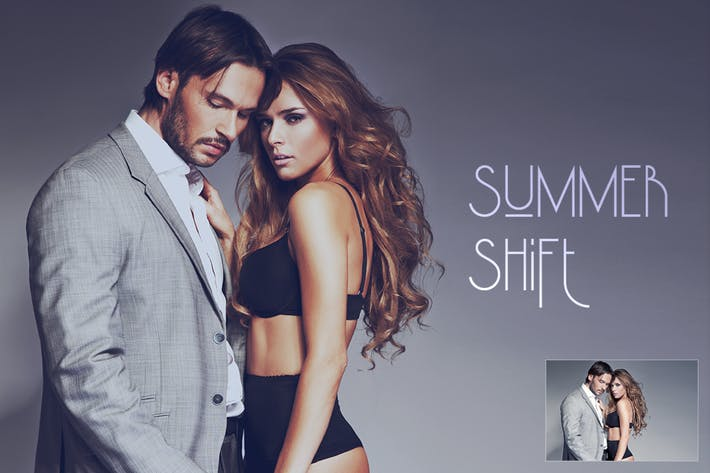 Cover Image For Summer Shift Action