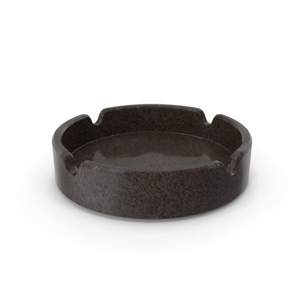 Granite ashtray
