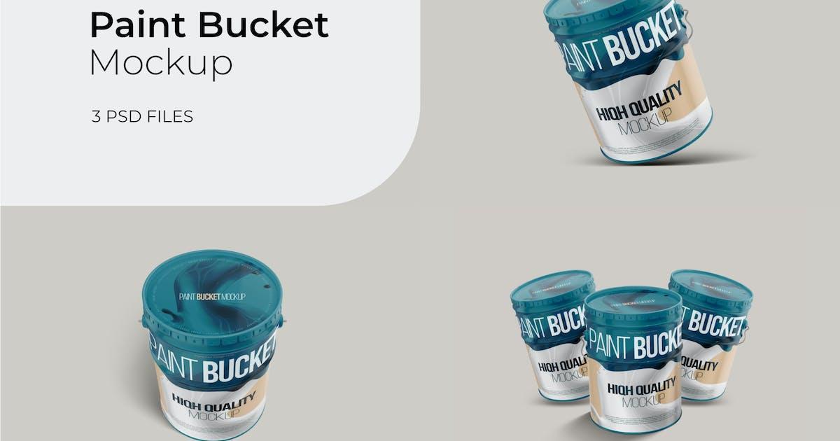 Download Paint Bucket - Mockup Vol.2 by GraphicGata