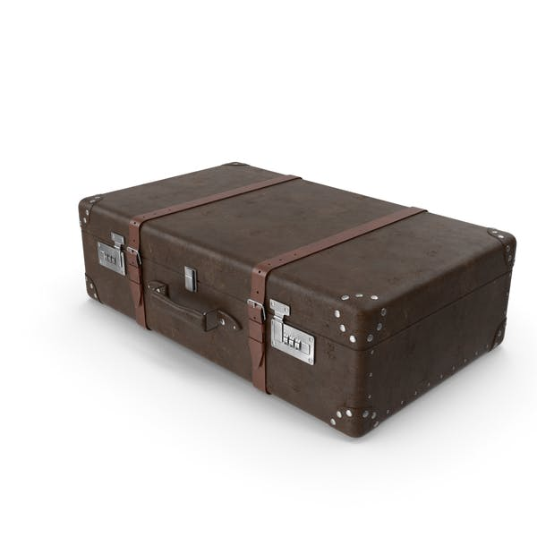 Ретро чемодан