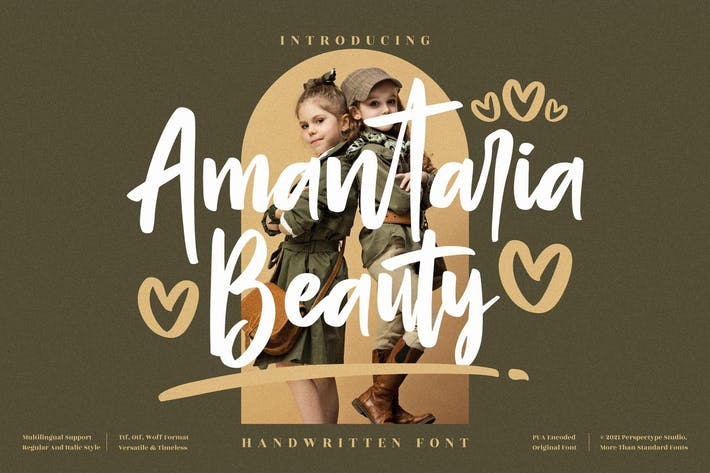 Amantaria Beauty Handwritten LS