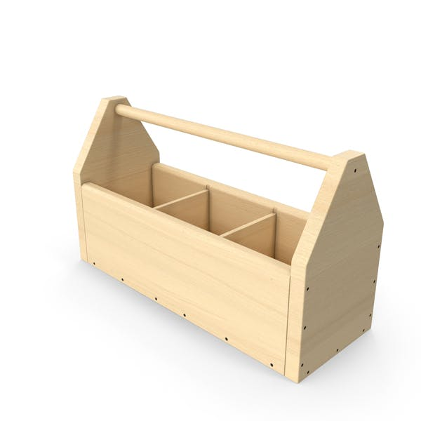 Thumbnail for Caja de herramientas de madera