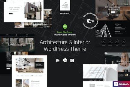 Theratio - Architektur & Innenarchitektur WP Thema