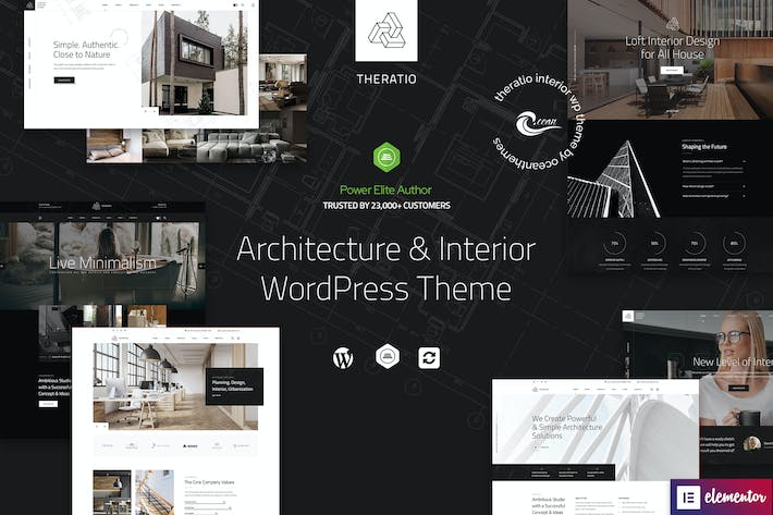 Thumbnail for Theratio - Architecture & Interior Design WP Theme