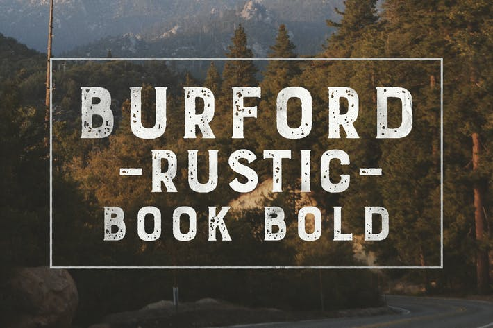 Thumbnail for Burford Rustic Book Bold