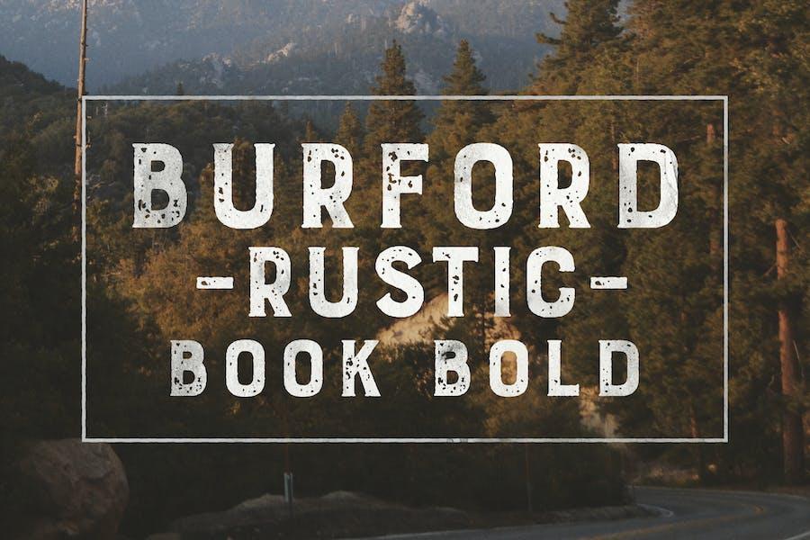 Burford Rustic Book Bold