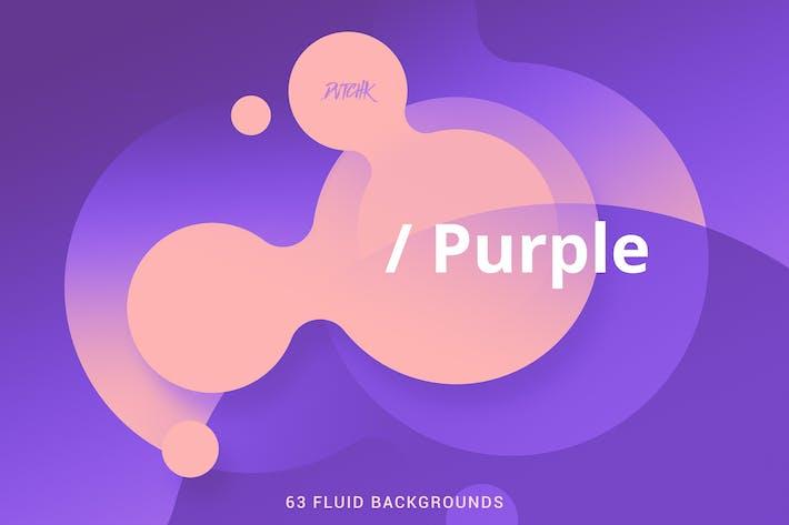 Thumbnail for Purple | Soft Fluid Backgrounds