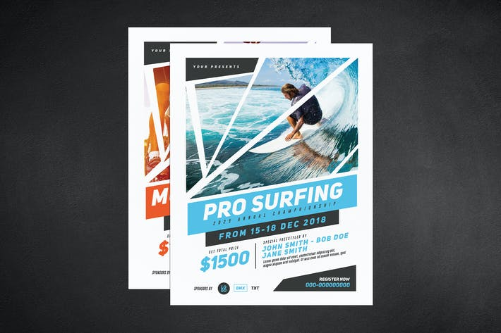 Thumbnail for Extreme Sport Event Flyer
