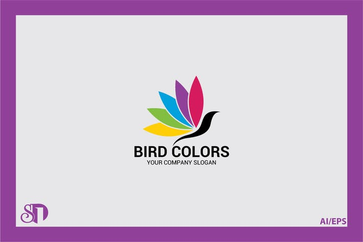Cover Image For Bird Colors Logo