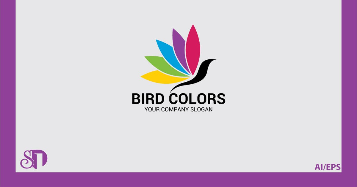 Download Bird Colors Logo by shazidesigns