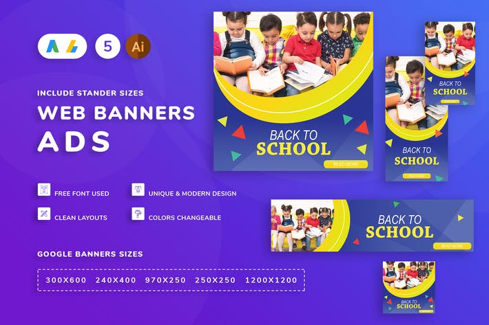 Cover Image For Back To School Banner