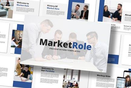 Market Role - Keynote Template