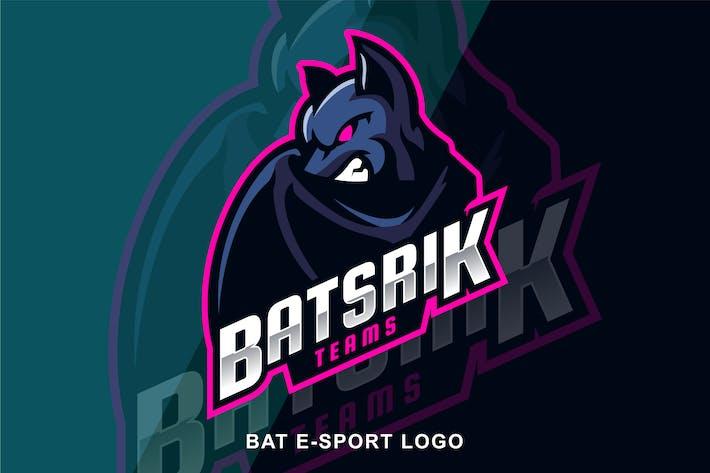 Thumbnail for Bat Angry E sport Logo