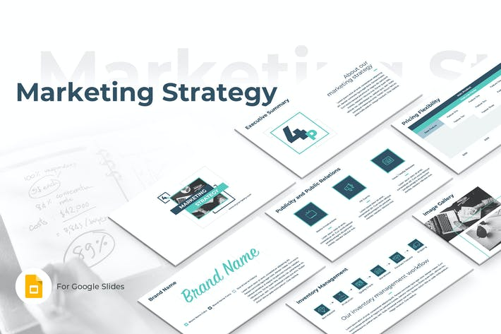 Thumbnail for Marketing Strategy Google Slides Template
