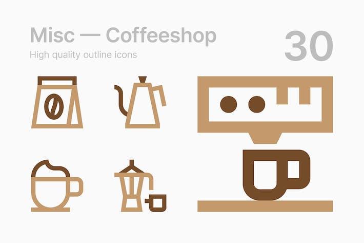 Thumbnail for Coffeeshop Icons