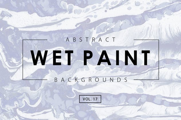 Wet Paint Backgrounds Vol. 17 - product preview 0
