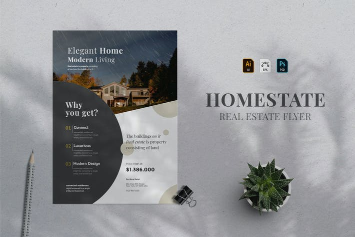 Thumbnail for Real Estate Flyer 07