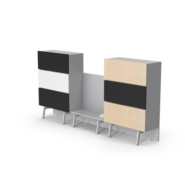 Cover Image for Konferenzraum-Schrank-Set