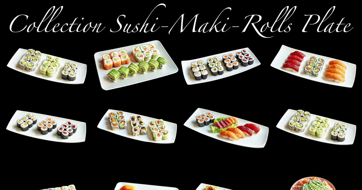 Download Sushis_Maki_Rolls_COLLECTION by pbombaert