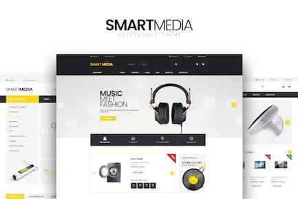 Smart media Responsive Prestashop 1.6,1.7 Theme