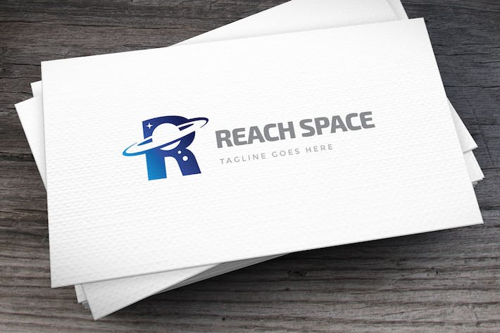 Thumbnail for Reach Space Letter R Logo Template