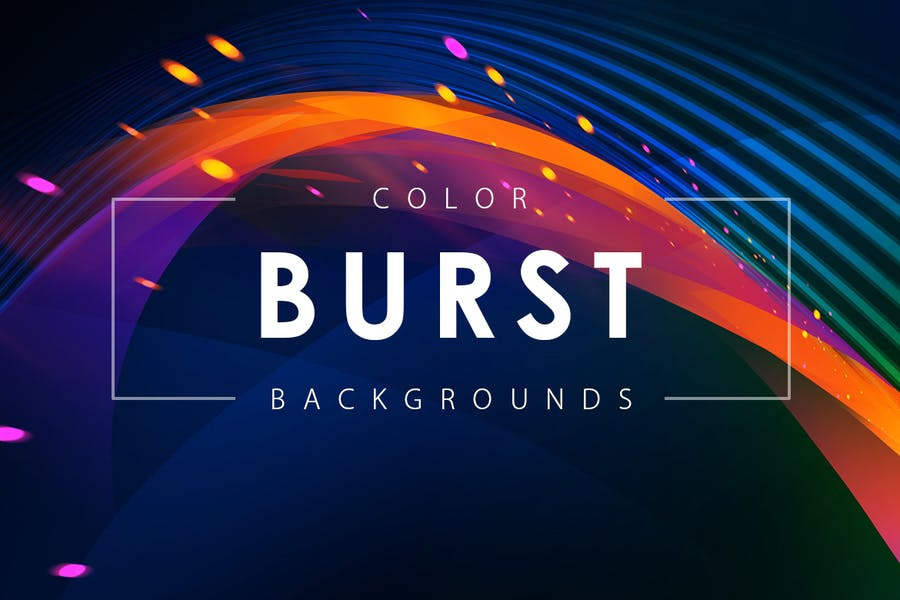 Color Burst Backgrounds