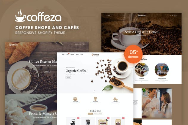 Coffeza - Coffee Shops and Cafés Shopify Theme
