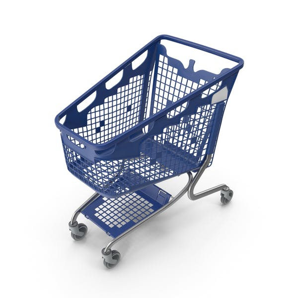 Thumbnail for PP Plastic Shopping Trolley 210L