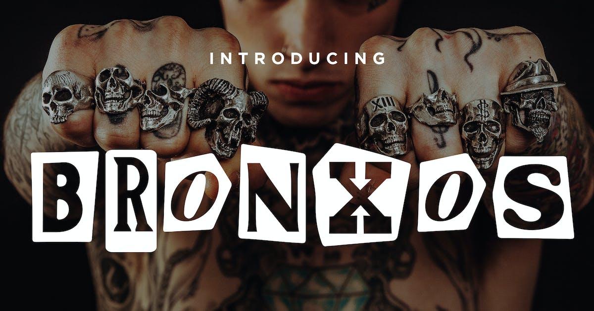 Download Bronxos - Collage Punk Poster Font by konstantinestudio