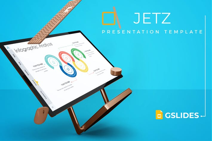 Thumbnail for Jetz - Google Slides Template
