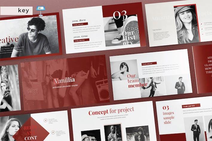 Thumbnail for VANILLIA - Multipurpose Keynote V209