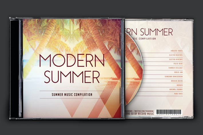 Cover Image For Modern Summer CD Cover Artwork