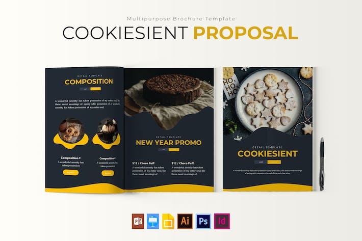Thumbnail for Cookiesient | BroschürVorlage