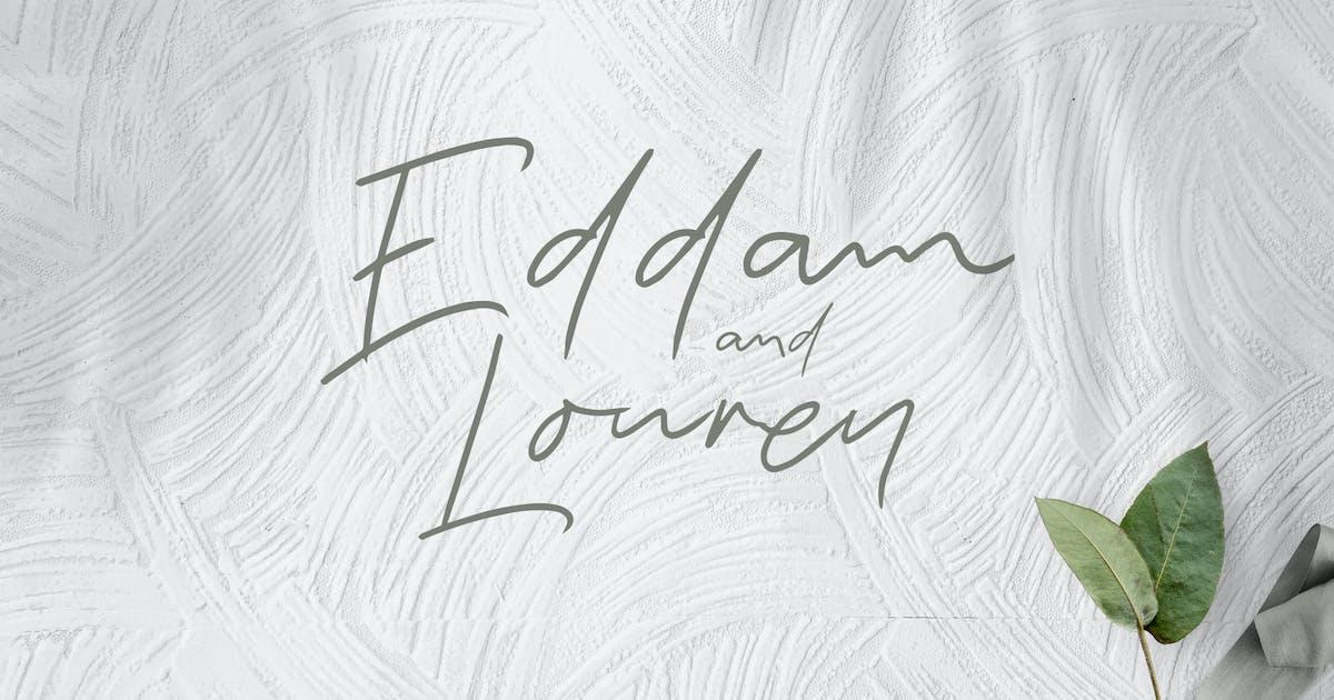 Download Eddam And Louren - Elegant Signature by naulicrea