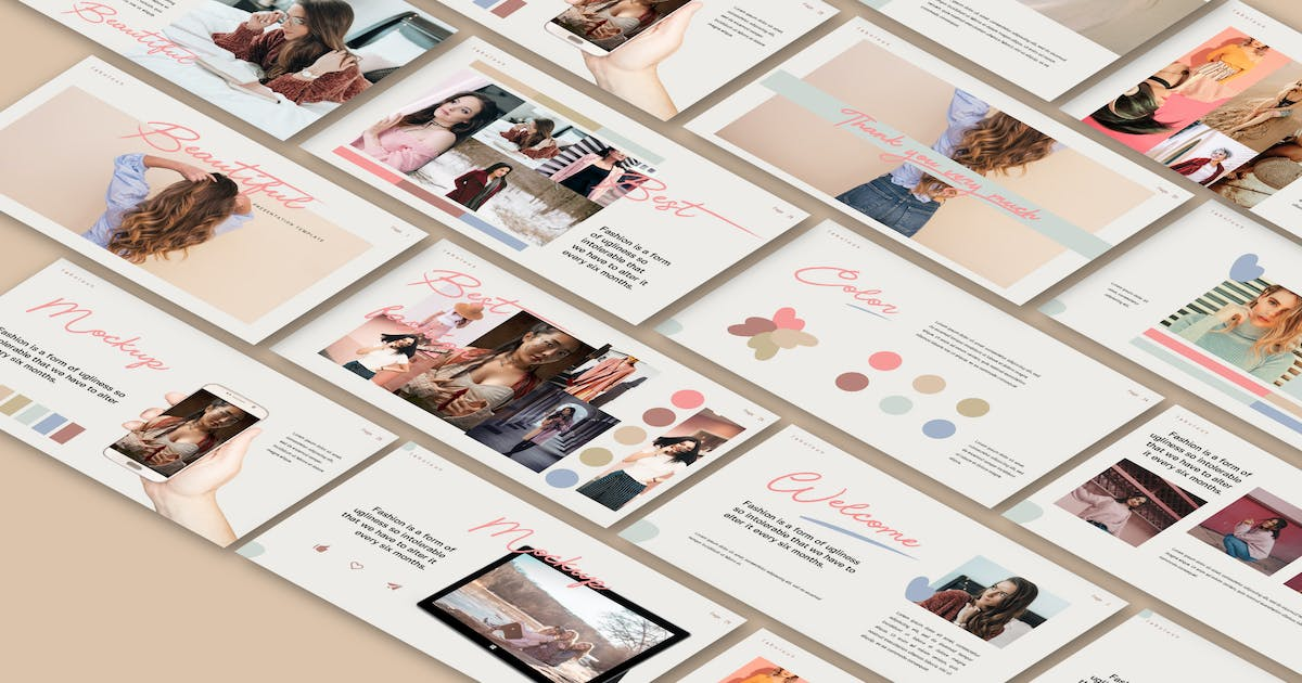 Download BEAUTIFUL - Keynote by templatehere