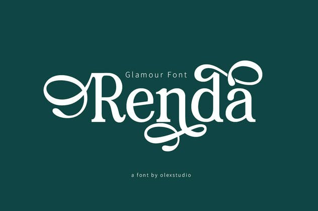 RENDA - Serif - product preview 0