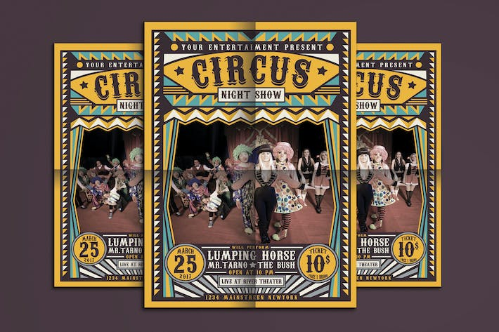 Thumbnail for Circus Carnival Flyer