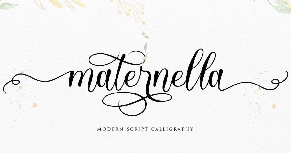 Download Maternella VN - Modern Script by GranzCreative
