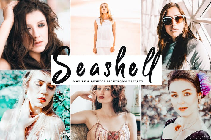 Thumbnail for Seashell Mobile & Desktop Lightroom Presets