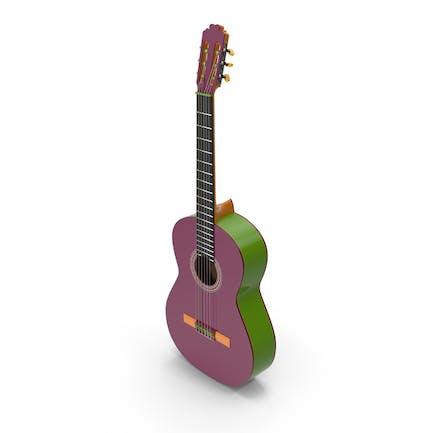 Multicolor Guitar