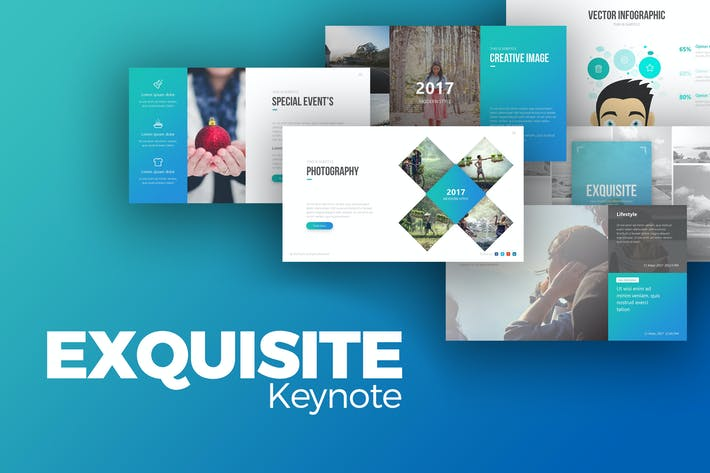 Thumbnail for Exquisite Keynote Presentation