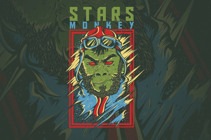 Cover Image For Stars Monkey