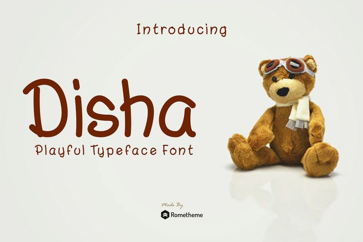 Thumbnail for Disa - Playful Font RB